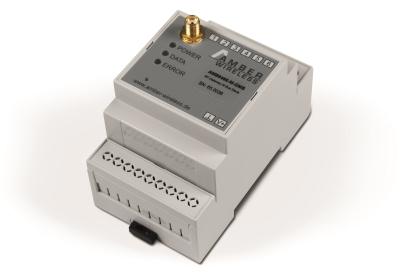 AMBER transmisor MBUS inalambrico para contadores de gas agua o electricidad